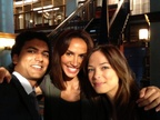 Sendhil Nina and Kristin