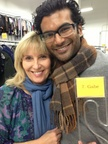 Sendhil and Catherine Ashton