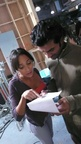 Sendhil and Dania Ramirez 2