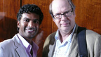 Sendhil and Stephen Tobolowsky