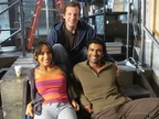Sendhil, Dania Ramirez and Adam Armus