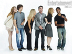 SDCC 2011 Photo Shoot CA Cast