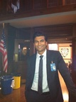 Sendhil on Set