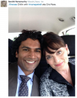 Sendhil Tweet with CRose